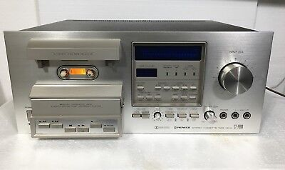 Pioneer CT-F900 Stereo Cassette Player-New Belt Kit Just Installed-Need Repair!!