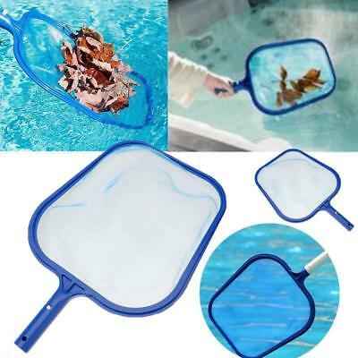 Hot Swimming Pool Flat Leaf Skimmer Net Plastic Water Pond Tub Cleaning Top Tool