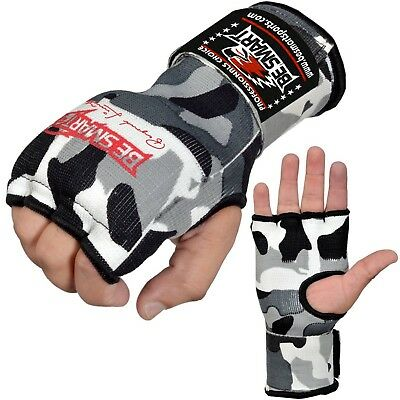 Inner Hand WRAPS Gloves Boxing GEL PADDED FIST Bandages MMA Gel Muay Thai CAMO