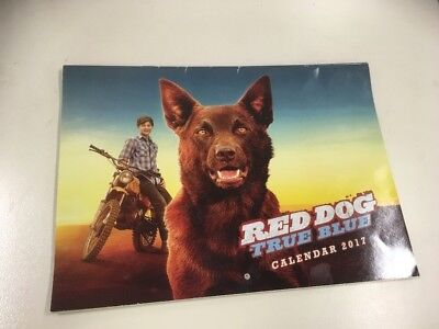 Red Dog  Official 2017 Square Calendar, Collectors item