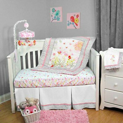 Baby Girl Botanica Nursery Bedding Set Crib Cot set
