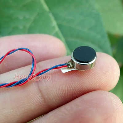 DC 3V Micro Round Coin Flat Vibrating Vibration Motor 8MM*3MM Cellphone DIY Toy