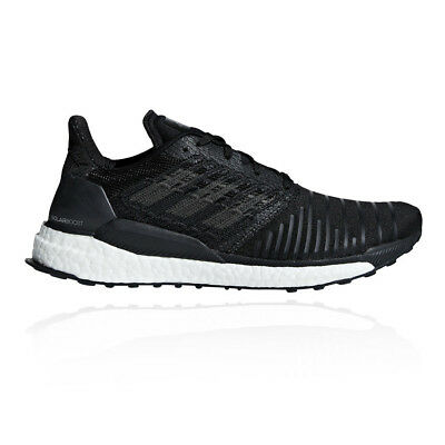 adidas Mens Solar Boost Running Shoes Trainers Sneakers Black Sports Breathable