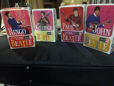 THE BEATLES REVELL model Repro. Display BOXES ED