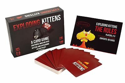 Exploding Kittens Card Game NSFW Edition Adult UK Seller