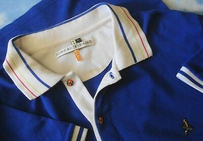 POLO  man  vintage JC DE CASTELBAJAC paris TG.XL  made in Italy   Rare