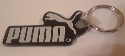 Puma Athletic Shoes Black & White Keychain Key Ring #6999 Footware collectible