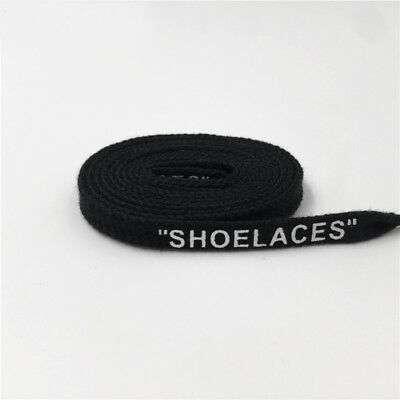 Shoelaces Flats BLACK 120 130 160 cmJORDAN OFF WHITE NIKE AIR 1 90 97