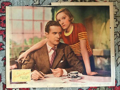 Escape Me Never 1935 United Artists lobby card Elizabeth Bergner Griffith Jones