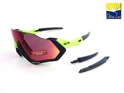 90bc134e0c OAKLEY FLIGHT JACKET 9401 05 Prizm Road Sports Racing Cycling 0537 Sole  Sunglass