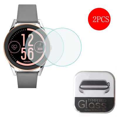 2X for Fossil Q Control Tempered Glass Screen Protector Anti Scratch Clear Film