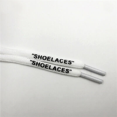 Shoelaces OVALEWHITE 130 cmpresto Jordan OFF WHITE NIKE AIR 1 90 97