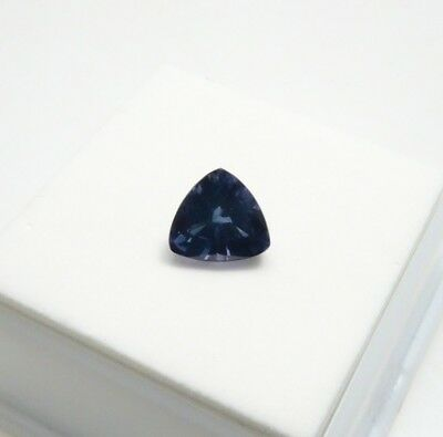 3.0ct Alexandrite 8mm Trillion - Russian Lab Created Alexandrite Loose Gemstone