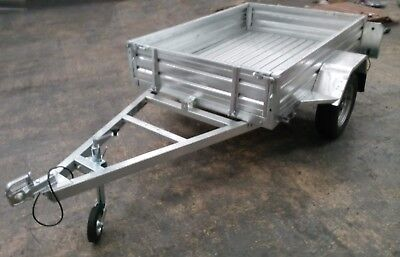 Galvanised Trailer - Multi Purpose - 6x4 Box, Caged & Ramps Options UK