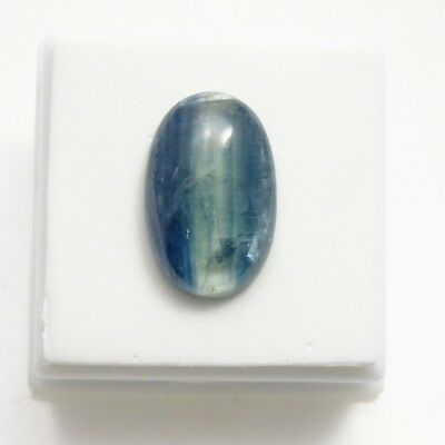 Kyanite Cabochon - 14.22ct - 12.5x20mm - Kyanite Oval Cabochon Gemstone