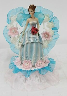 Lighted Cinderella Quinceanera Cake Topper Decoration Mis Quince