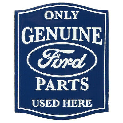 Only Ford Parts Embossed Metal Magnet