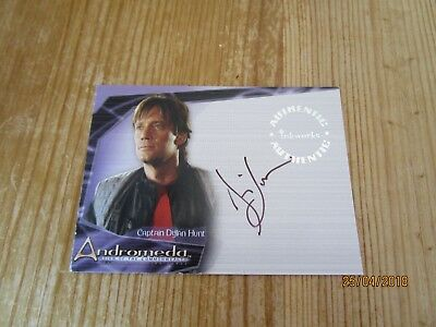 Andromeda Reign Of The Commonwealth - DYLAN HUNT   Autographed KEVIN SORBO