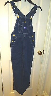 Big Smith Blue Bib Overalls Youth 10