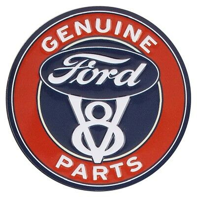 Ford Parts Embossed Metal Magnet