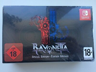 Bayonetta 1 & 2 Special Edition for Nintendo Switch >New & Factory Sealed<