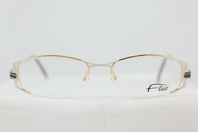 7f4b736e75 Great Flair Mod 855 Half Rimless Eyeglasses Brille New! Made In Gemany