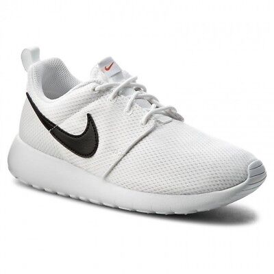 f71a404ffdf0 Nike Roshe One (GS) Big Kids Sportswear Running Shoe 599728-101 White Black
