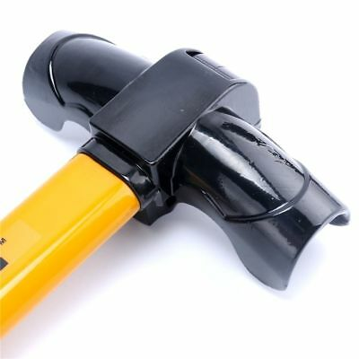 Vehicle Car Top Mount Steering Wheel Security Lock With Keys Anti-Theft Devices