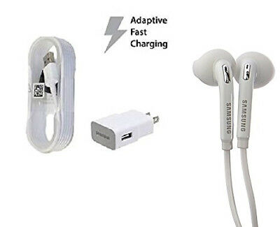 Original Samsung Fast Charging Travel Charger Set Galaxy S7 S7 Edge S6 S6 Edge