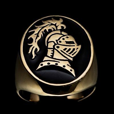 Mens Medieval Bronze Costumering Brave Knight Lancelot Camelot Black Any Size