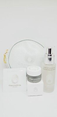 Omorovicza Travel Size Gift Set: Hungary Mist, Mud Mask, Firming Serum & Pouch