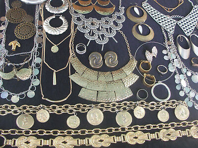 Lot Of Vintage/now Costume Jewelry Egyptian Style Nice Pieces