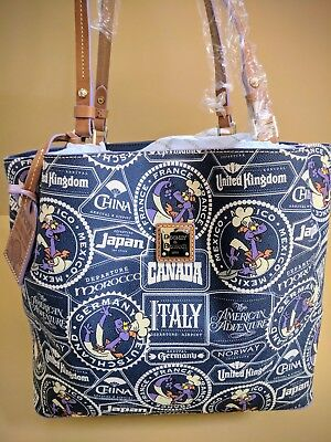 Disney Dooney & Bourke EPCOT Food& Wine 2017 large tote purse Figment Chef NWT