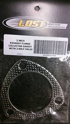 3 inch Exhaust Flange Collector Gasket with 3 bolt holes EFG601