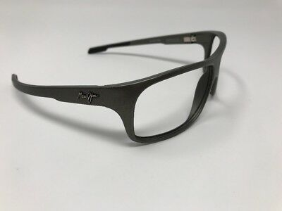 a052243f3e0 MAUI JIM- Island Time Sunglasses ( MJ-237-11B ) Grey FLEX 64/17/125 ...