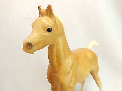 "Breyer Vintage Palomino Foal Chalky Arabian Charity 13"" Horse Figure Loose EUC"