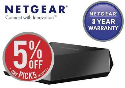 10% Off NOW - Netgear GS808E Nighthawk S8000 Gaming & Streaming 8-Port Switch