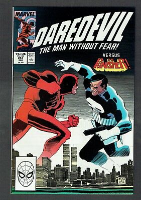 Daredevil #257 Vs. Punisher Marvel Comics Copper Age 1988 VF/NM Netflix TV Show