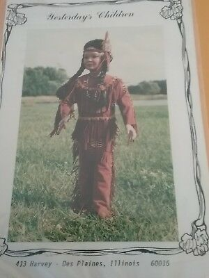 """American Indian doll clothes pattern for  15""""-16"""""""