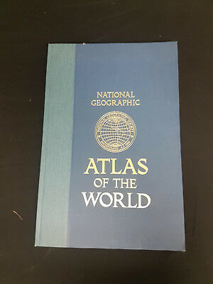 National Geographic Atlas of the World Hardcover, 5th Edition 1981!