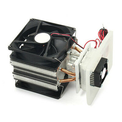 1PC Thermoelectric Peltier Semiconductor Refrigeration Cooling System Cooler Fan