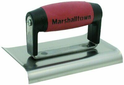Marshalltown M136D 6x3-inch Cement Edger - Durasoft Handle