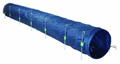 Trixie Dog Activity Tunnel Basic Agilité 60 cm / 5 m Bleu