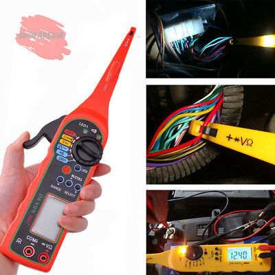 2016 Multi-function Auto Circuit Tester Multimeter Lamp Car Repair Automotive El