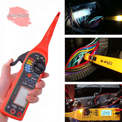 Power Electrical Multi-function Auto Circuit Tester Multimeter Lamp Car Repair A