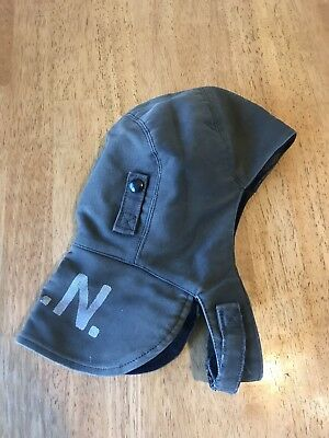 WWII Era US Navy USN Foul Weather Deck Cap or Hood - Size 7 1/4
