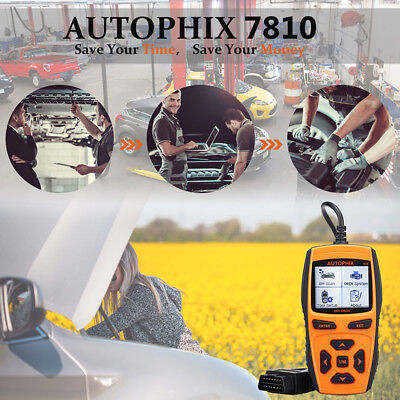 AUTOPHIX 7810 BM Auto Scanner OBD2 Diagnostic Code Reader Read & Clear Error