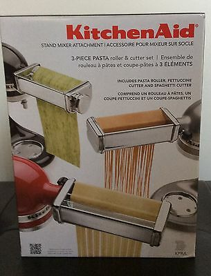 KITCHENAID 3 PIECE Pasta Roller & Cutter Set Mixer Attachment Kpra on kitchenaid pasta sheet roller, kitchenaid pasta roller on sale, kitchenaid pasta maker parts, kitchenaid pasta maker attachment, kitchenaid pasta attachment set, kitchenaid pasta excellence set, kitchenaid pasta cutter, kitchenaid mixer pasta kit, kitchenaid pasta attachment kohl's, kitchenaid pasta excellence kit prices,