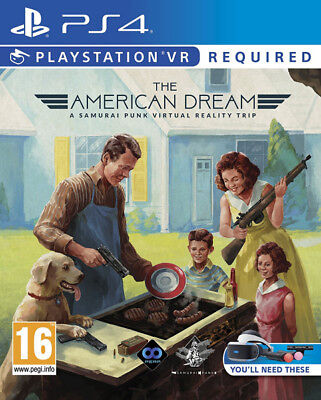 The American Dream VR PSVR PS4 * NEW SEALED PAL *