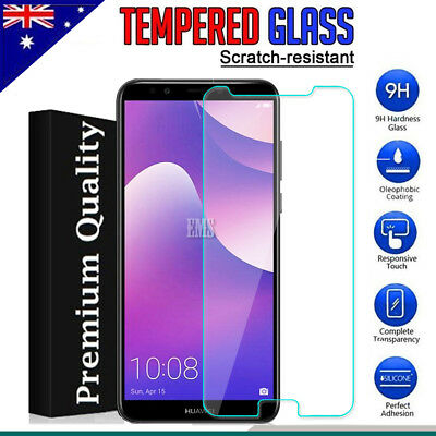 Tempered Glass LCD Screen Protector Guard for Huawei Nova 2 Lite / Y7 Prime 2018